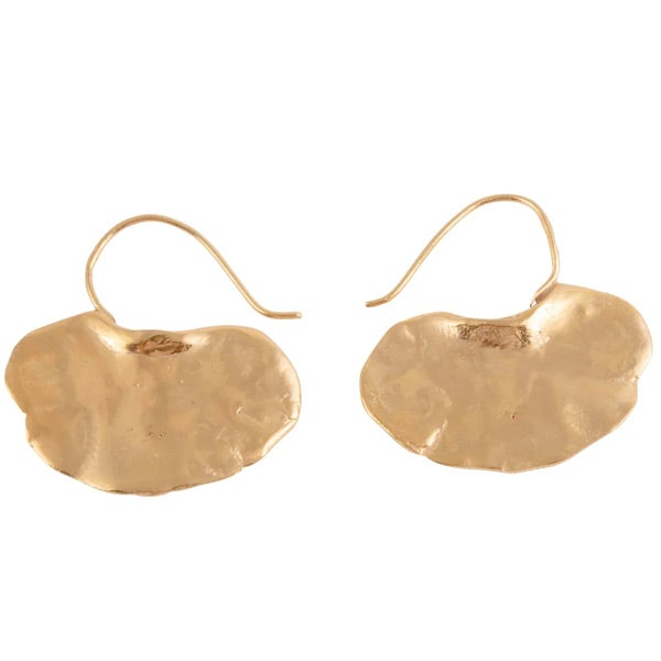 Image of Gingko unusual earrings