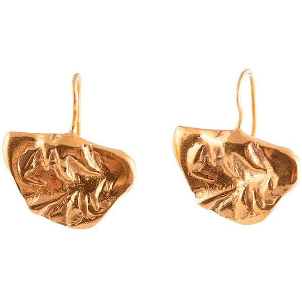 Image of Tesoro half moon earrings