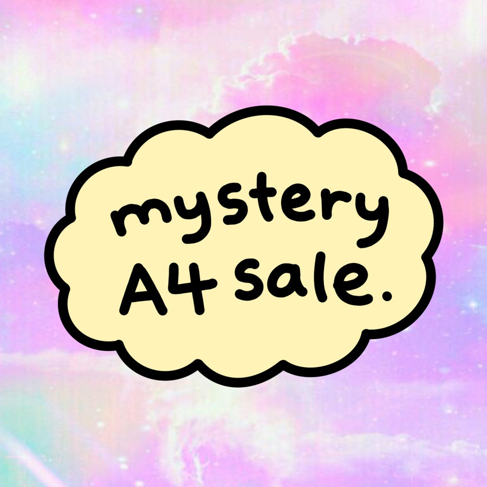 Image of The mystery A4 print sale