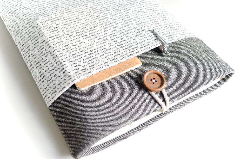 Image of Words Computer Sleeve Case, Tablet, iPad Cover, Kindle Sleeve, Custom Size