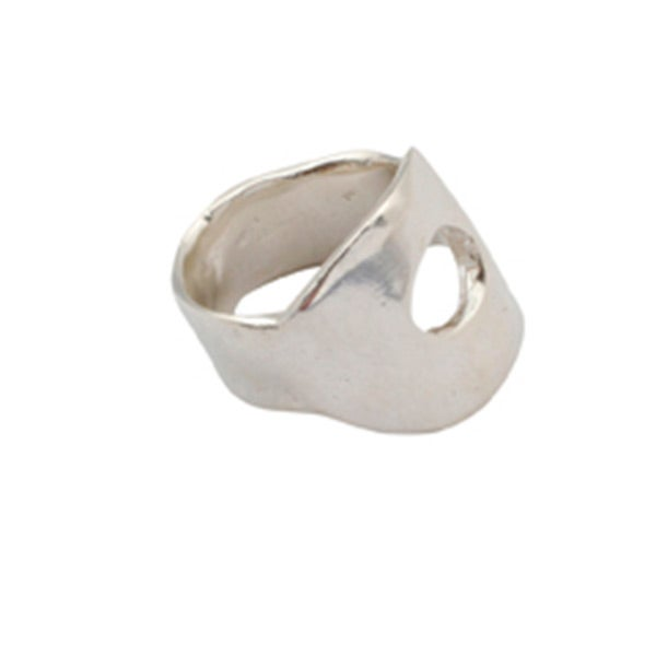 Image of Sterling silver Agnes ring