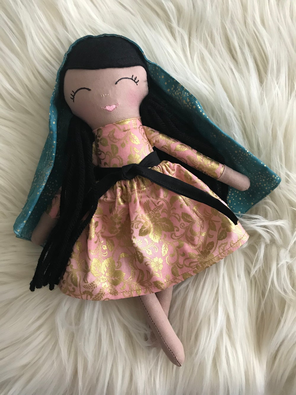 Image of Our Lady of Guadalupe doll