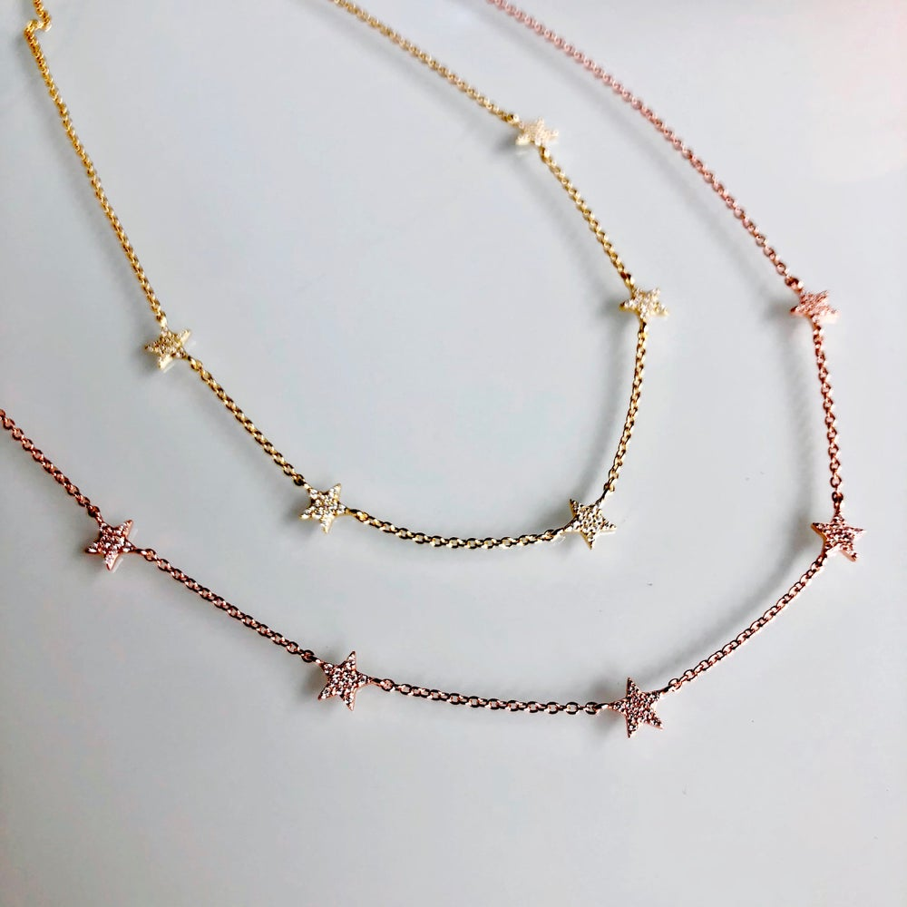 Image of 5 Stars Necklace