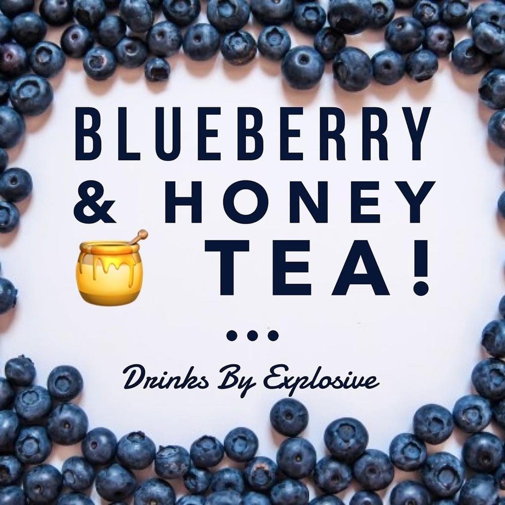 Image of Blueberry & Raw Honey Tea No HEMP