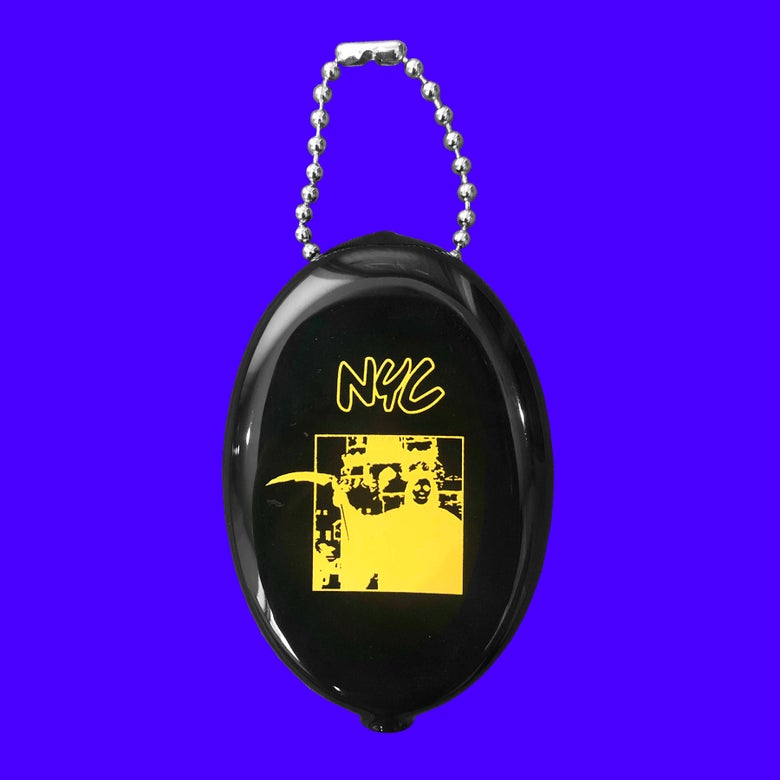 Image of NYC COIN POUCH KEYCHAIN