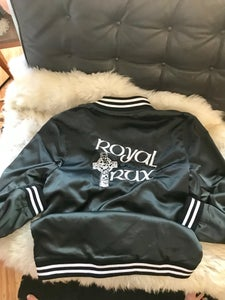 "Image of ROYAL BLACK Fergadelic ROYAL TRUX ""satin"" TOUR JACKET"