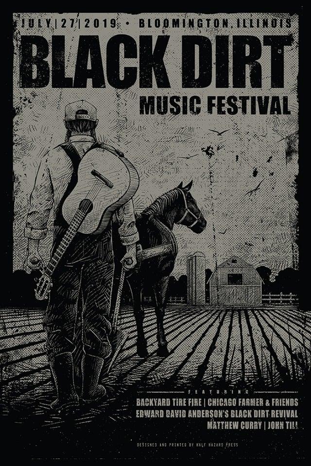 Image of 2019 Black Dirt Music Festival Poster