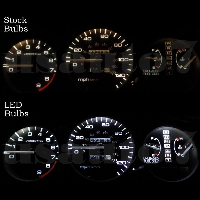 Image of LED Cluster Kit for 92-95 EG Civic + Heater Control Kit