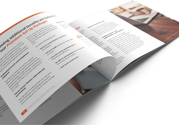 Image of Chaser Set Up and Training Brochure Print