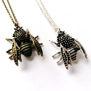 Image of Spooky Bluebottle Fly Pendant