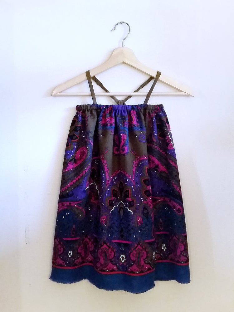 Image of Flutter Dress - Wisteria