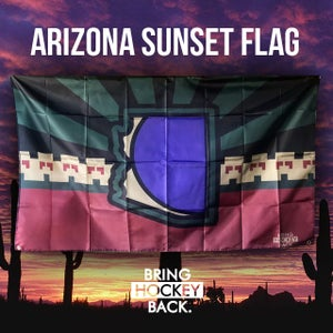 Image of AZ Sunset 3x5 Flag [FREE SHIPPING]
