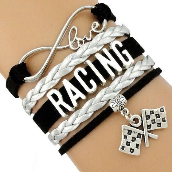 Image of Love Racing Infinity Bracelet