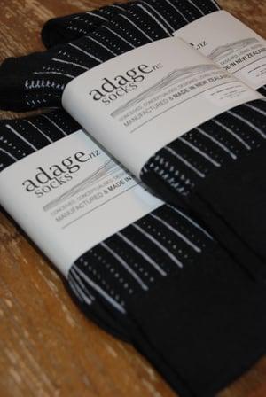 Image of Railway - Merino Blend Dress Socks