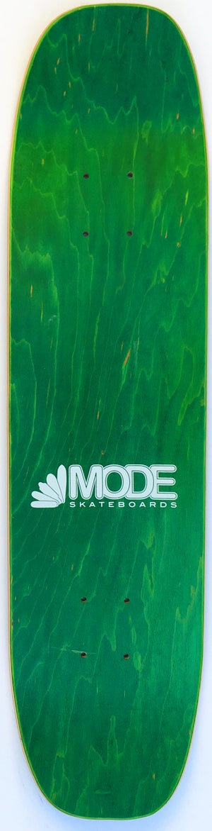 Image of Postcard double-kick freestyle (green stain) - 7.4 by 29.4