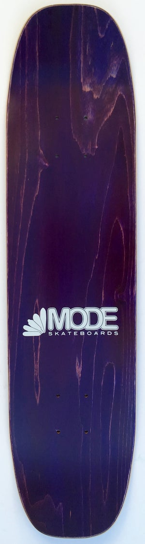 Image of Postcard double-kick freestyle (purple stain) - 7.4 by 29.4