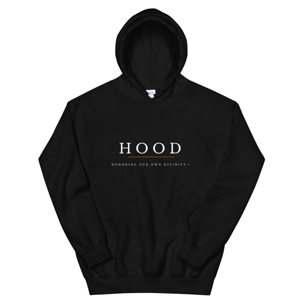 Image of HOOD: Honoring Our Own Divinity™️ (BLACK)