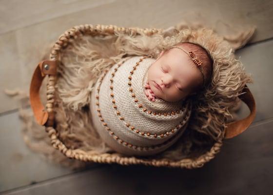 Image of Beads bow headband