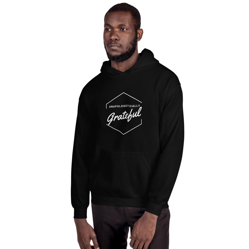 Image of Unapologeticallay GRATEFUL Hoodie (white)