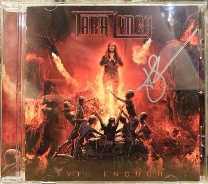 Image of EVIL ENOUGH CD - AUTOGRPHED