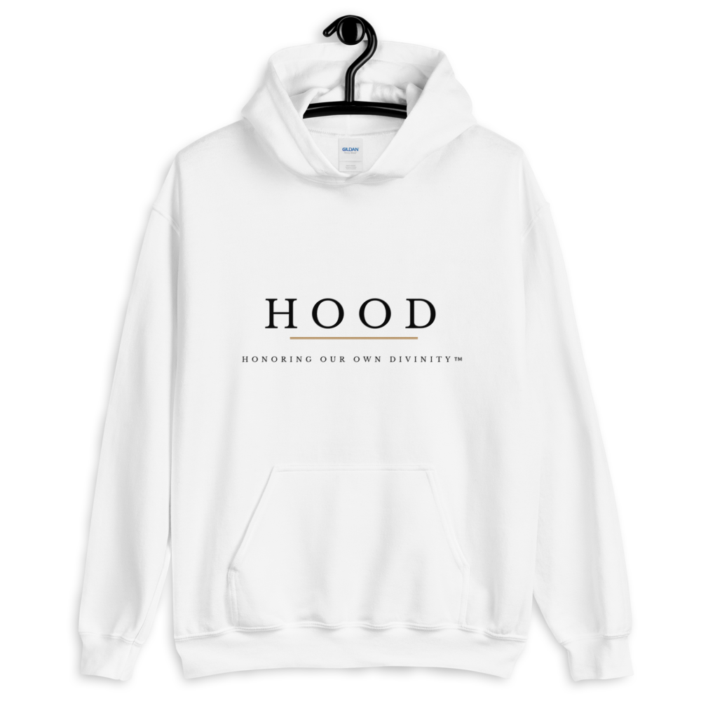 Image of HOOD: Honoring Our Own Divinity™️ (WHITE)