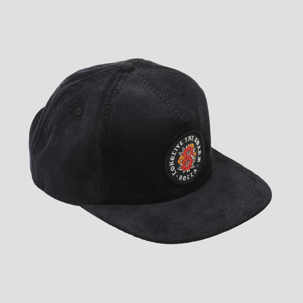 Image of BLOOM SNAPBACK HAT (CORDUROY)