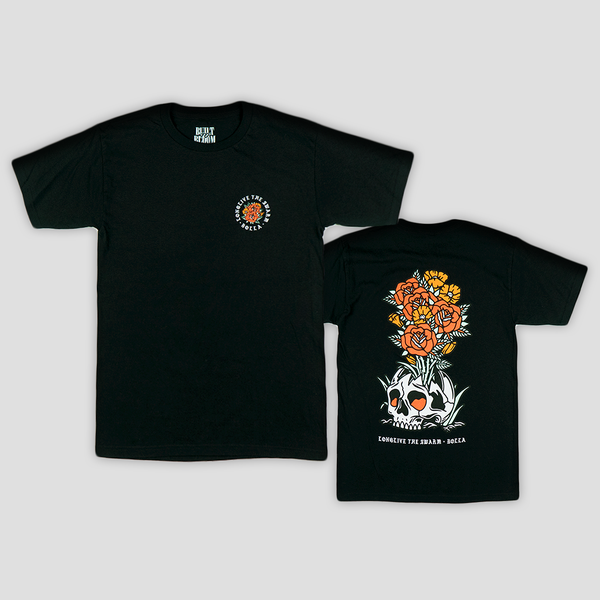 Image of BLOOM TEE (BLACK)