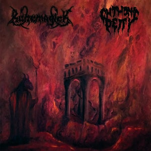 Image of RUNEMAGICK / CHTHONIC DEITY 'Chthonicmagick' split lp