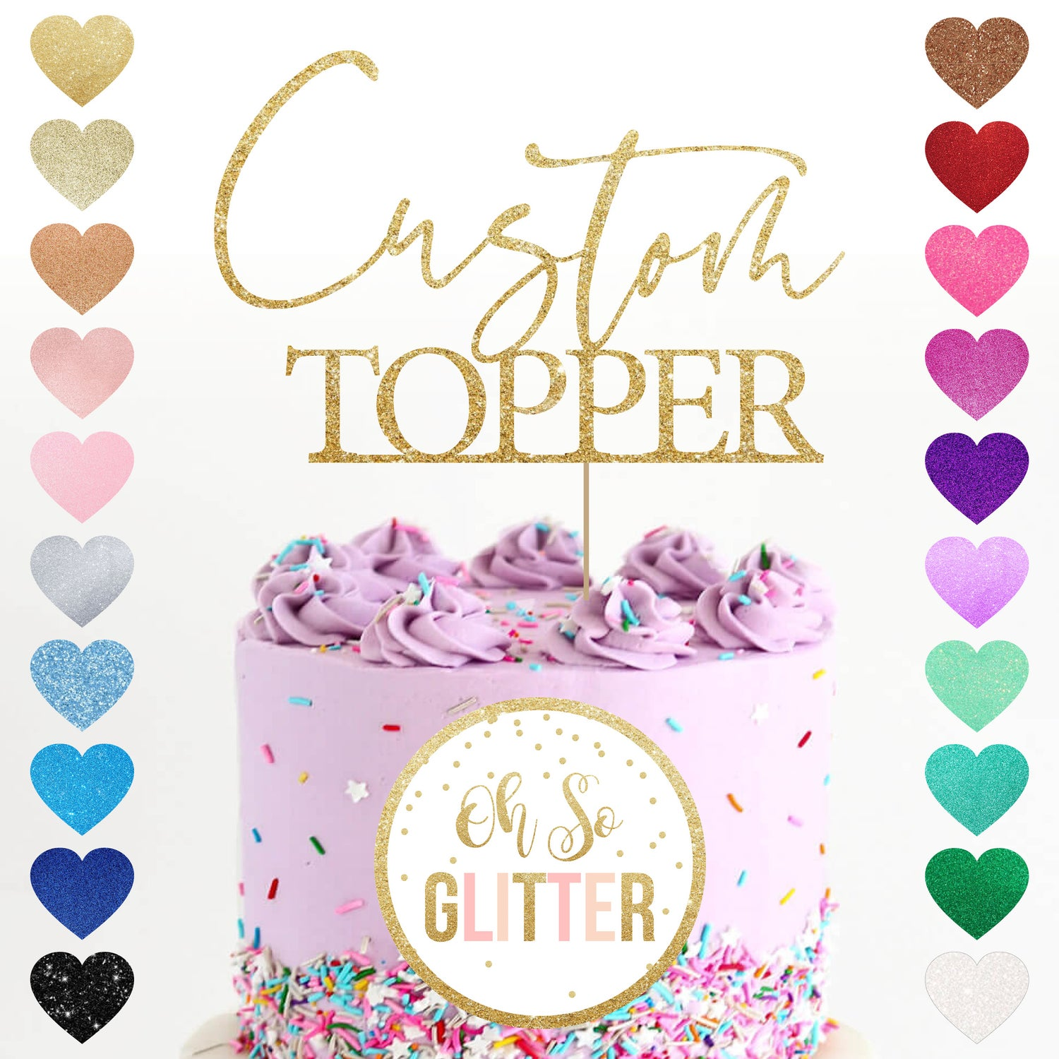 Image of Custom Topper - Any words