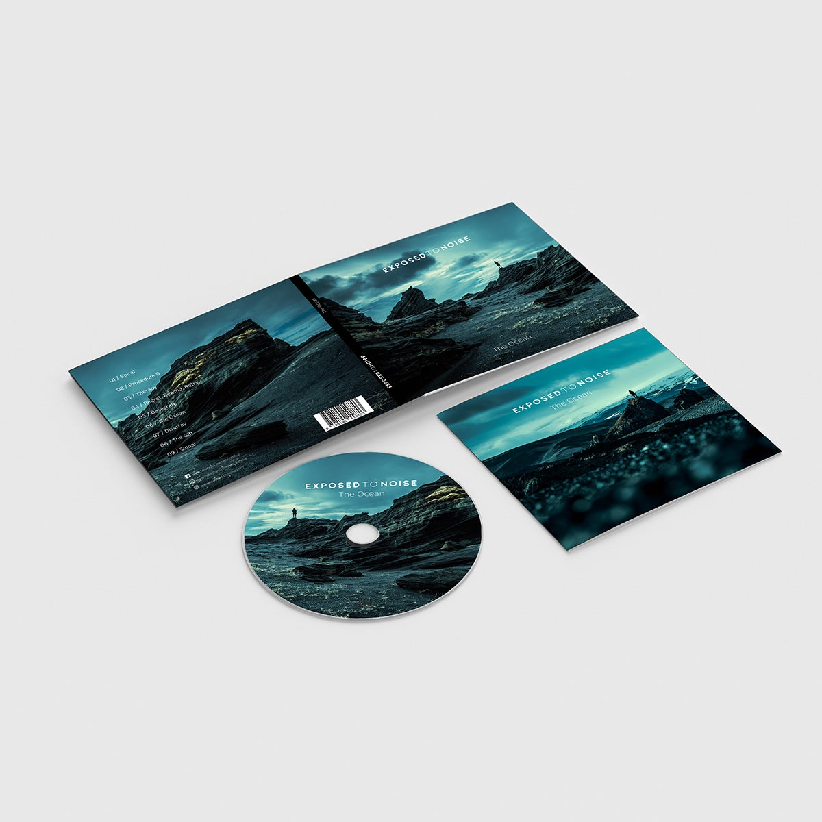 Image of CD »The Ocean« Digipack