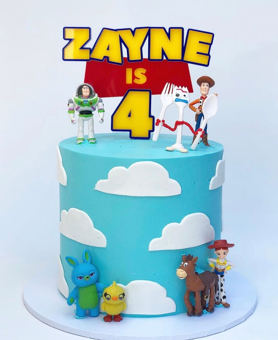 Image of Toy Themed Cake Topper