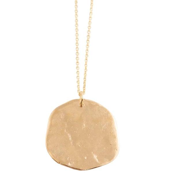 Image of Ibiza large pendant necklace
