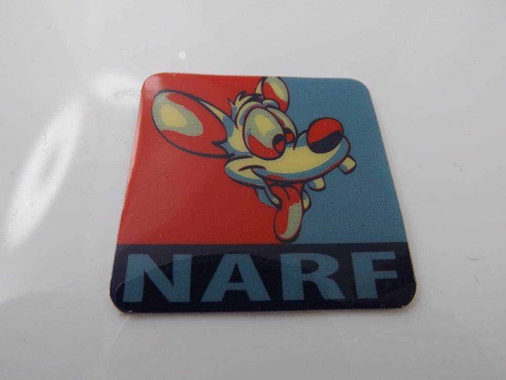 Image of Pinky 'Narf' Stickers