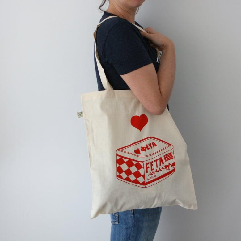 Image of Love Feta - Tote Bag