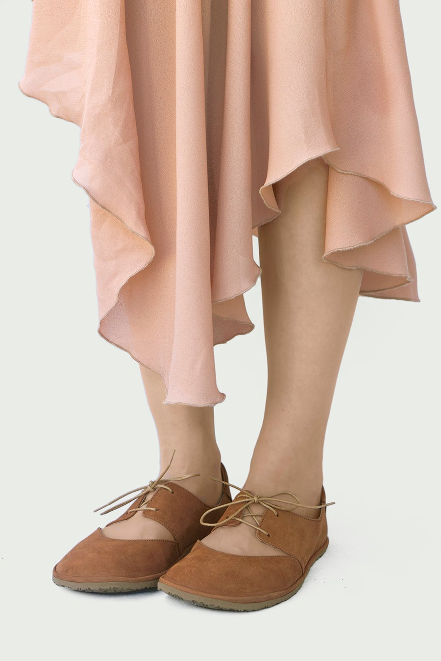 Image of Derby Ballet flats in Ginger Nubuck