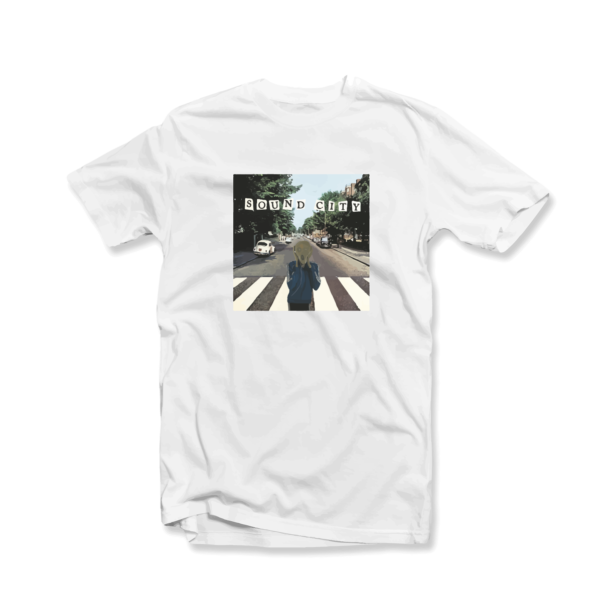 Image of Sound City x Edvard Munch Style Limited Edition T-Shirt