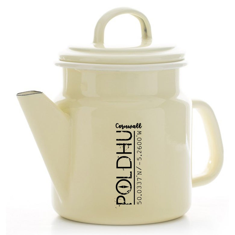 Image of POLDHU Vintage Tea/Coffee Pot - CREAM