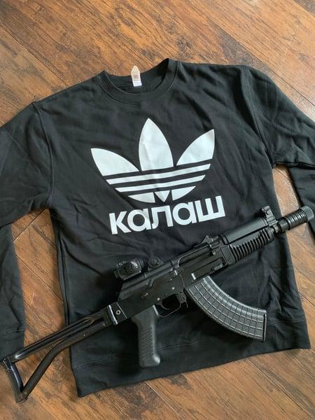 Image of KALASH Trefoil Cyrillic Crewneck