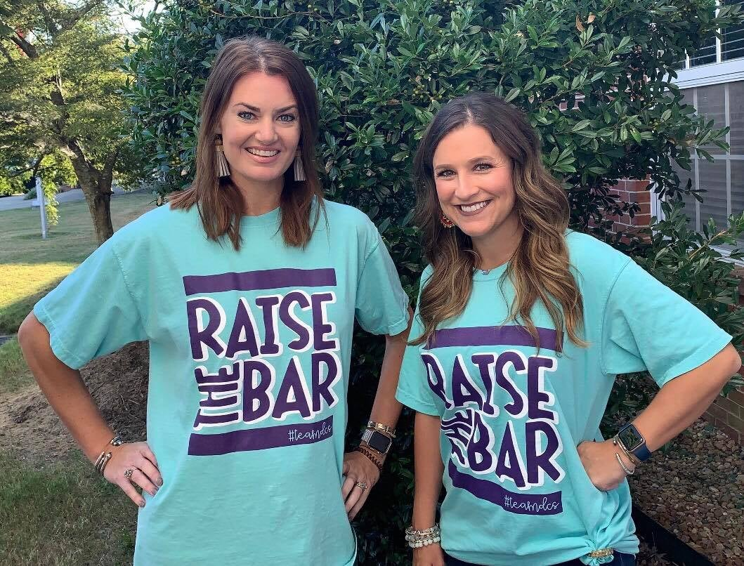 Image of Rasie the Bar - LONG Sleeve CHALKY MINT