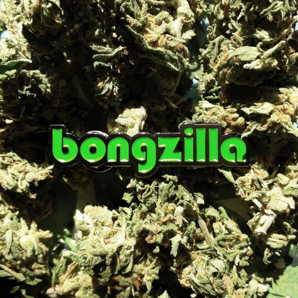 Image of BONGZILLA ENAMEL PIN