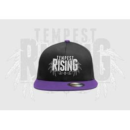 Image of Tempest Rising Snapback purple brim