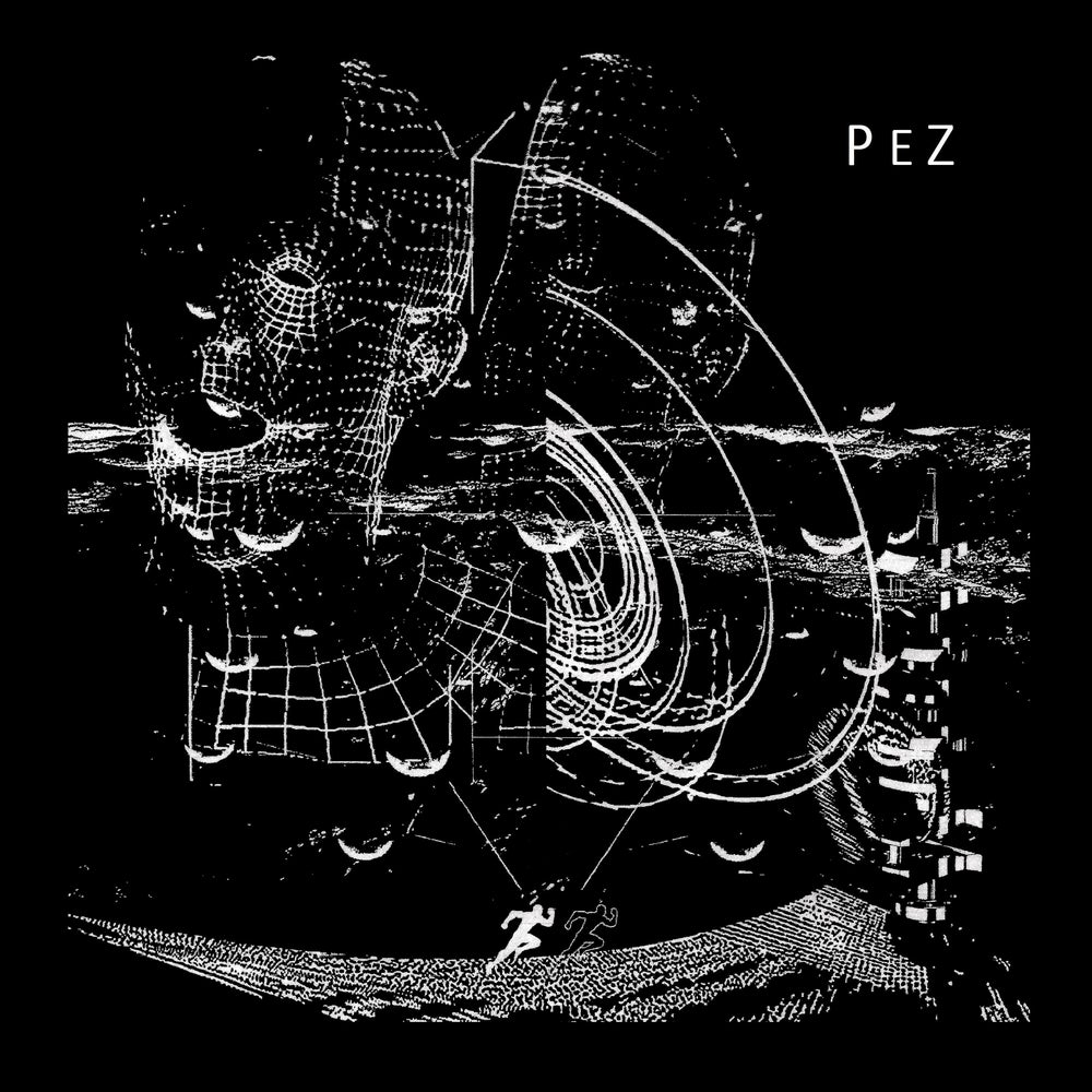 """Image of PeZ """"World Within Skin"""" Single Sided 12"""" on clear w/B-side etching"""