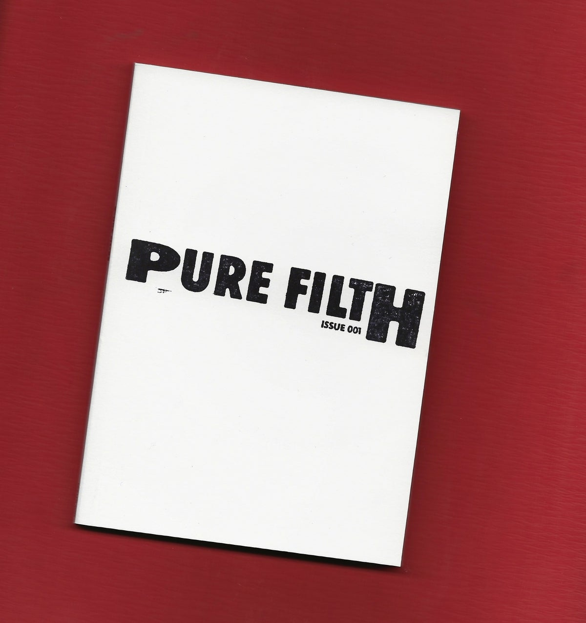 Image of Pure Filth Issue 1