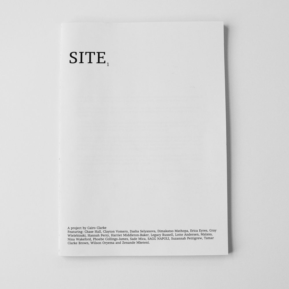 Image of SITE 1st Edition