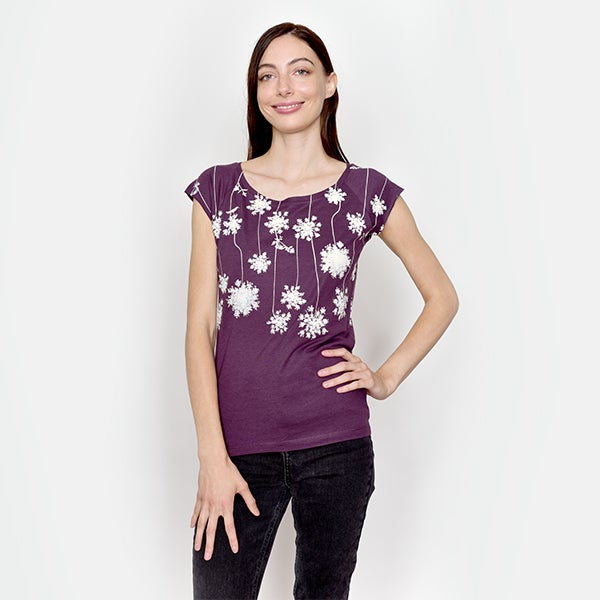 Image of PurplePompom Bamboo T