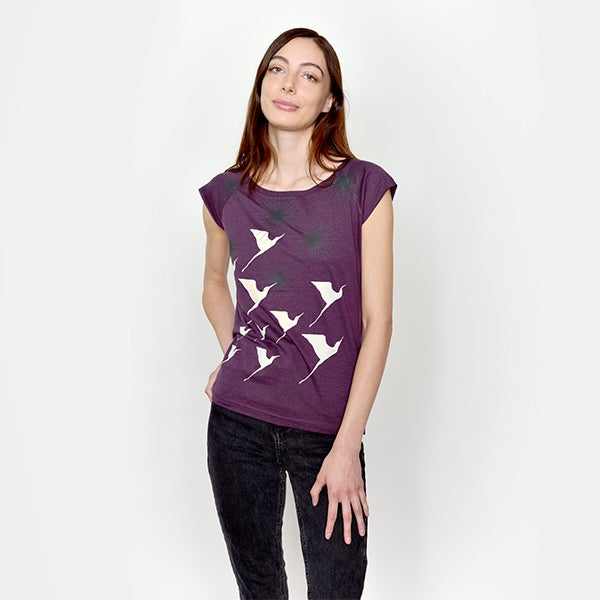 Image of PurpleStarburst Bamboo T
