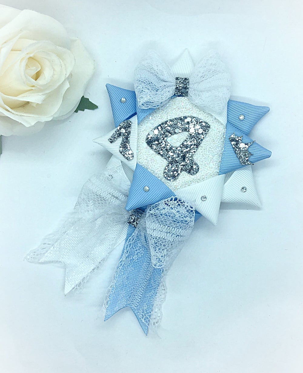 Image of Princess birthday Rosette