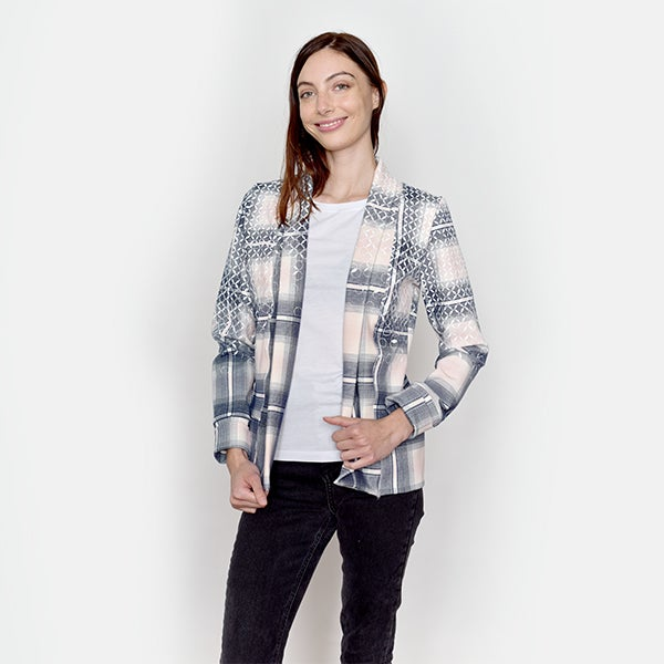 Image of CheckeredChain Cardigan