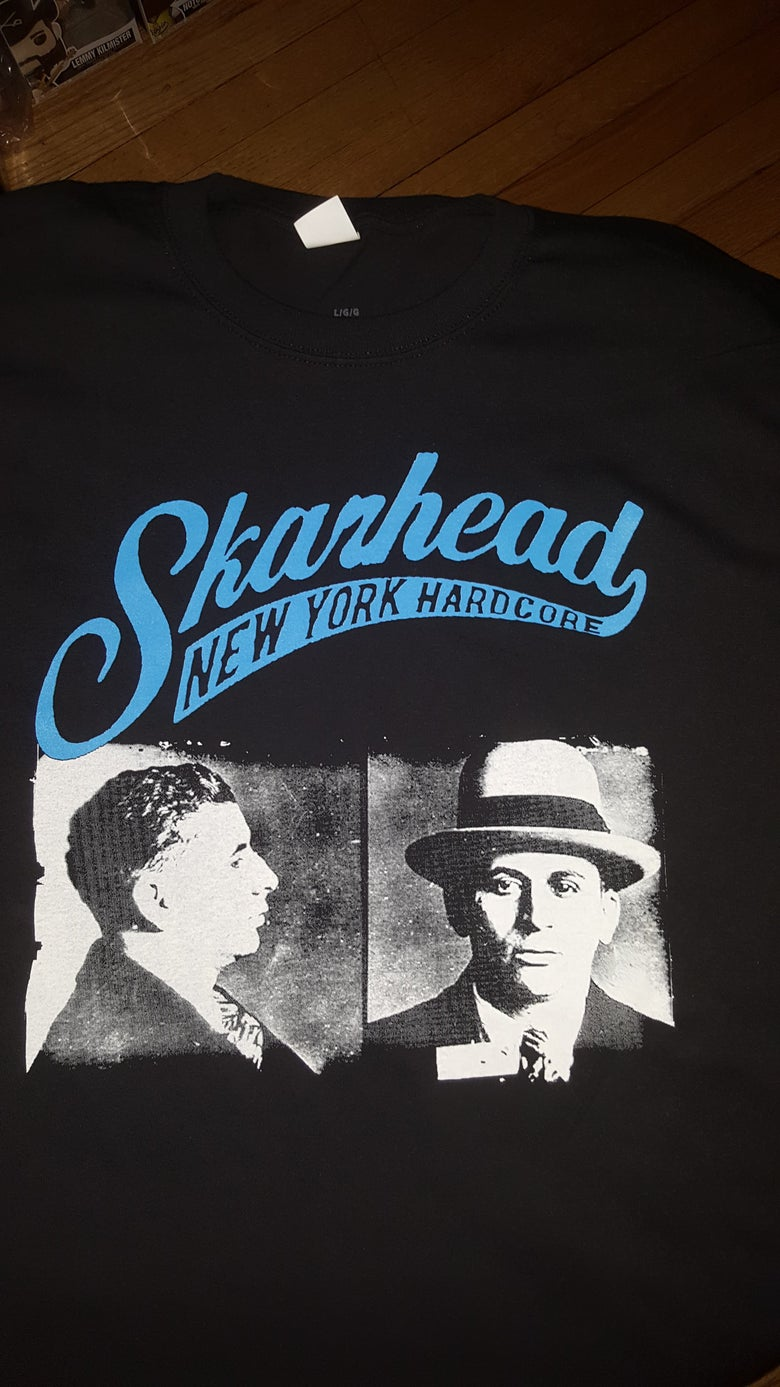 Image of SKARHEAD MEYER LANSKY KINGS AT CRIME T SHIRT (IN STOCK)