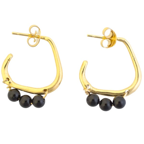 Image of Luna hoops (P21)